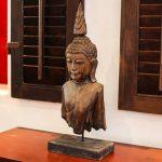 Thailand Buddha Wood Statue