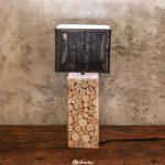 Unique Handmade Eucalyptus Table Lamp